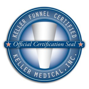 Keller Funnel Certification Seal